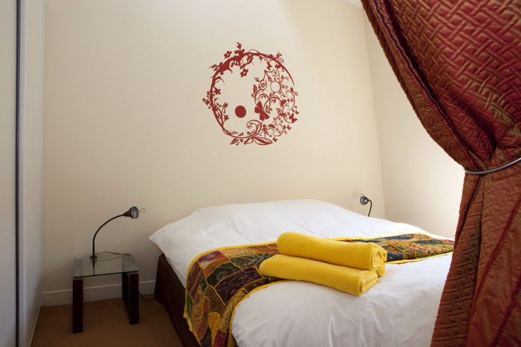 Your Paris Apartment bedroom