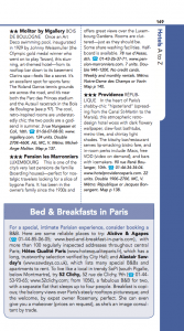 Frommers Paris Day By Day Guide 52 Clichy Listing page 149