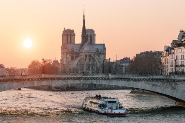 Seine Boat Tours Paris France