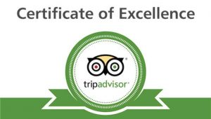 Over 100 5* reviews on TripAdvisor for the apartment