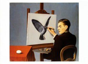 Magritte exhibition paris painting