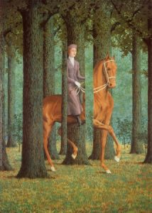 Magritte exhibition later painting