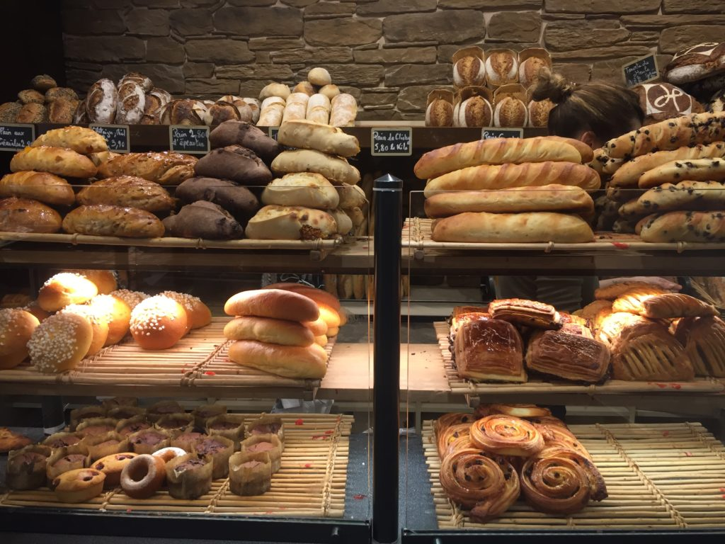 Bakery goods from Landemaine bakery